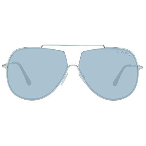 Tom Ford Herren FT0586 16A 61 Sonnenbrille, Silber,