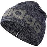 adidas Damen Neo Logo Beanie Hat S blau
