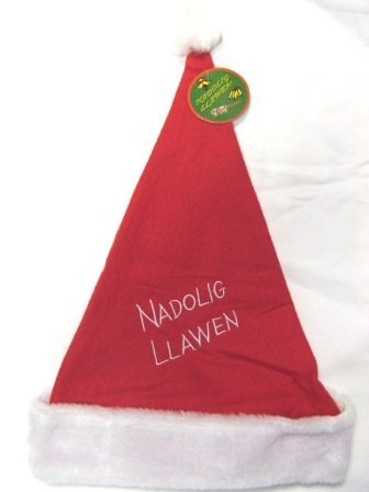 Pendragon Kostüme (nadolig llawen Santa Hut Walisisch Merry Christmas Kostüm)