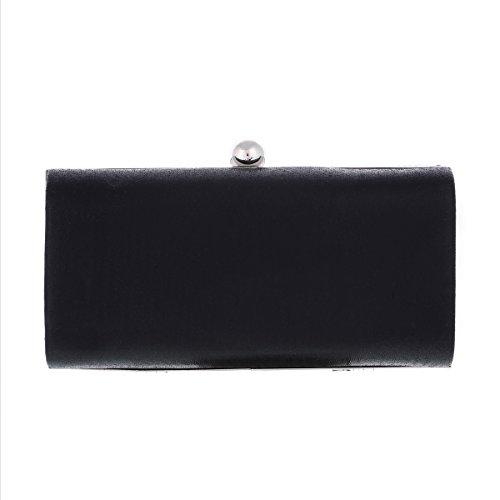 Damara® Wellen Damen Ball Exquisit Handtasche Mit Kette Gold