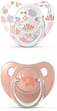 Suavinex Pack Chupetes para Bebés 0-6 meses, Chupete con tetina anatómica de silicona