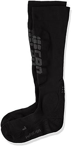 CEP Ski Ultralight Women's Ski Socks Black/Anthracite, black, (Ultralight Sci Calzini)