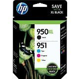 #10: 2 X HP 950XL Black and 951 Color Ink Cartridges C M Y Combo Pack In Retail Packing