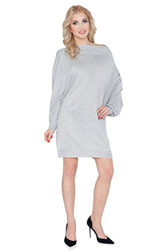 FUTURO FASHION - Robe - Pull - Manches Longues - Femme rose rose Cendré
