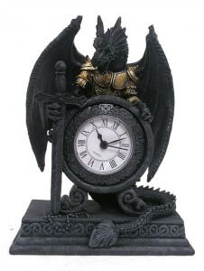 Dragon in Armour Clock