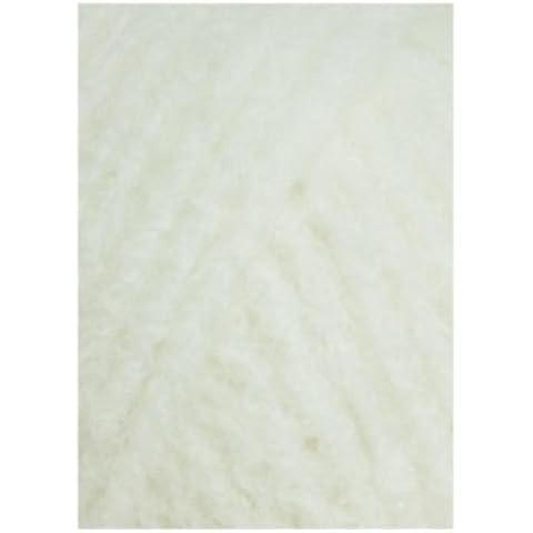 Lang Yarns–CASHMERE Light–Colore: Bianco sporco (0094)–25G/circa 85m lana