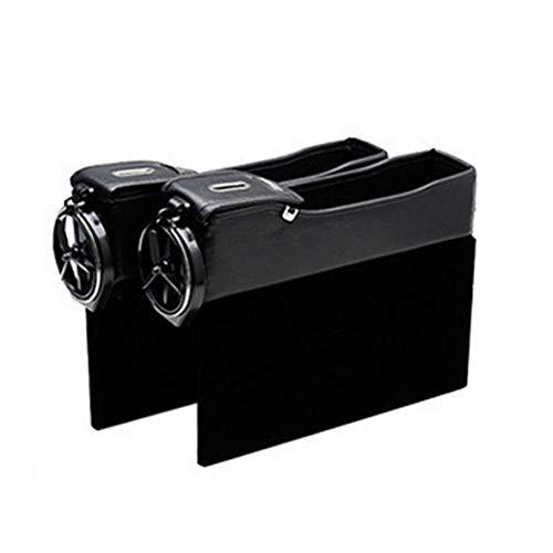 Monllack Autositz Seitenspeicher Quilten Box Leder Geldwechsel Telefon Aufbewahrungsbox Mit Getränkehalter Agile Stereo
