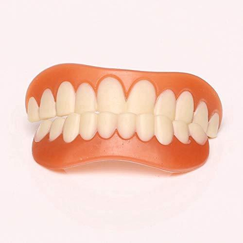 Maple Leaf Nacht Molaren Silikon Simulation Zahnspangen Anti-Zahn Zähne Oral Tray Whitening Zahnpasta Lächeln Zahnspangen (Set Von 3),Upperteeth