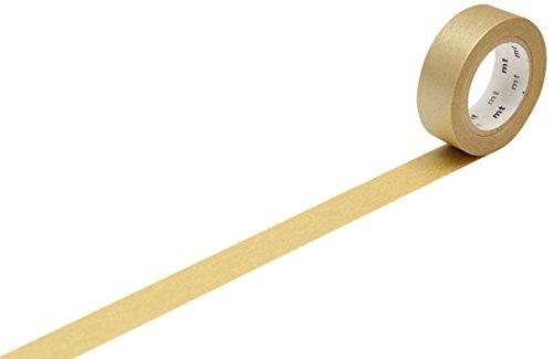 TapeFactory - Rollo de cinta adhesiva, color dorado