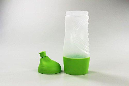 TUPPERWARE Sportfreund 415 ml Sportflasche hellgrün/grün C93 Trinkflasche 26569