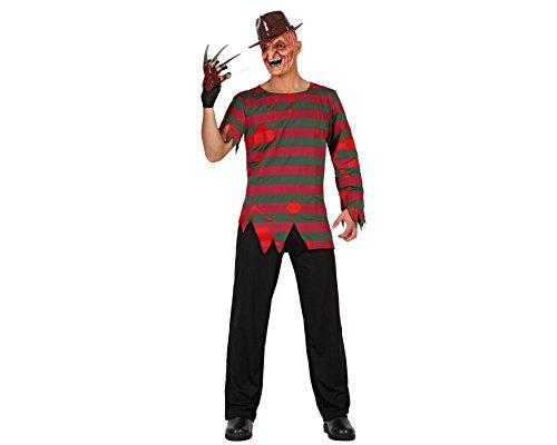 ATOSA 19574 - Mörder Kostüm, Größe M-L, - Freddy Krueger Kostüm Schuhe