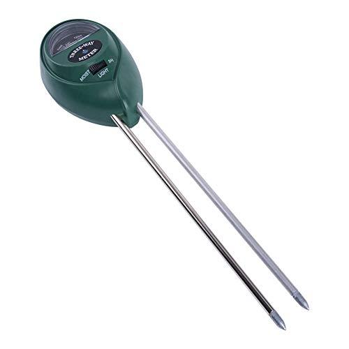 KCDE Raumthermometer-Thermometer-Hygrometer-Detektor-Prüfvorrichtung, 3-in-1-Gartenbaumessung pH-Beleuchtungsstärke-Boden-Blumentopf-Test