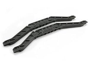 Traxxas 4963 - Piezas de Repuesto para chasis Inferior, 3 mm, Color Negro