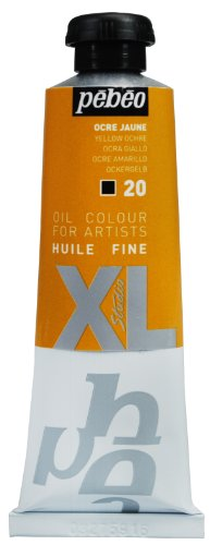 PEBEO XL Studio Feine Ölfarbe, 37ml, gelb Ocker
