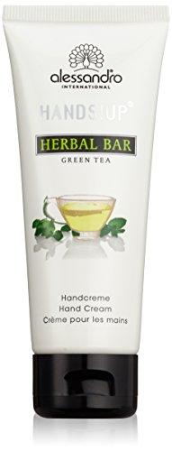 alessandro Hands Spa Herbal Bar Handcreme Green Tea, 1er Pack (1 x 75 ml)