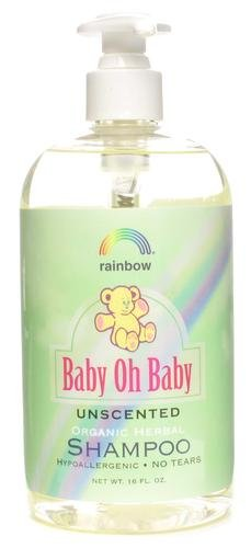 Rainbow Research Baby Oh Baby Unscented Organic Herbal Baby Shampoo 473 ml (Shampoos) -