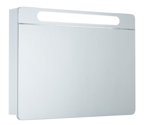Spiegelschrank vertikale Öffnung - 86 cm