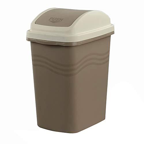 Mayish 10 Litros Plastico Khaki Cubos de Basura Basurero Cubo de Basura Cubo Basura Reciclaje Papelera...
