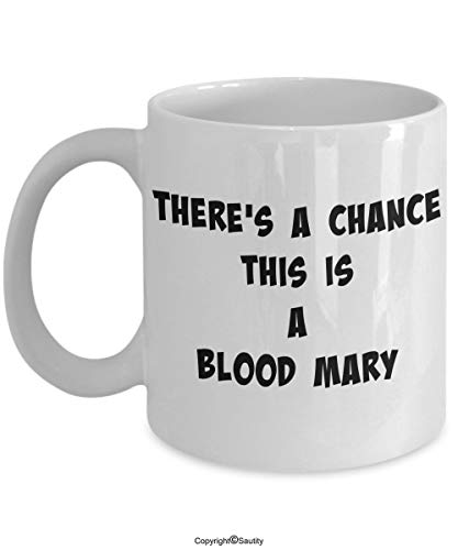 Bloody Mary Coffee Mug - Fun Drink Cup - Great Gift for Drinkers and Hangovers by