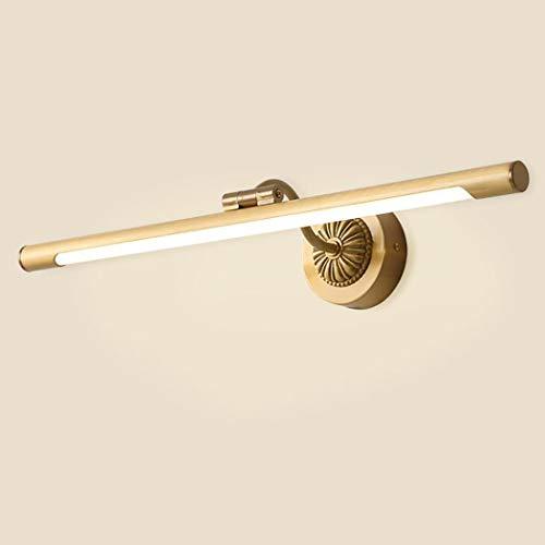 LED Bad Kosmetikleuchten Leuchte Vintage Reines Kupfer Kosmetikspiegel Lampe 4000 Karat für Schlafzimmer Ankleide Eitelkeit Tisch Set (Foyer-tisch-set)