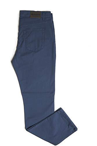 aceea0f44f Holiday Jeans Pantalone Modello LINHAI Primaverile/Estivo Uomo Cotone TG.  46 48 50 52 54 56 58 60 Made in Italy! (Blu Chiaro, 60)