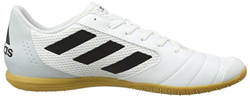adidas Ace 17.4 Sala, Chaussures de Football Homme Blanc (Footwear White/core Black/clear Grey)