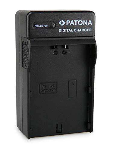 PATONA 3en1 Cargador Compatible batería JVC SSL JVC50