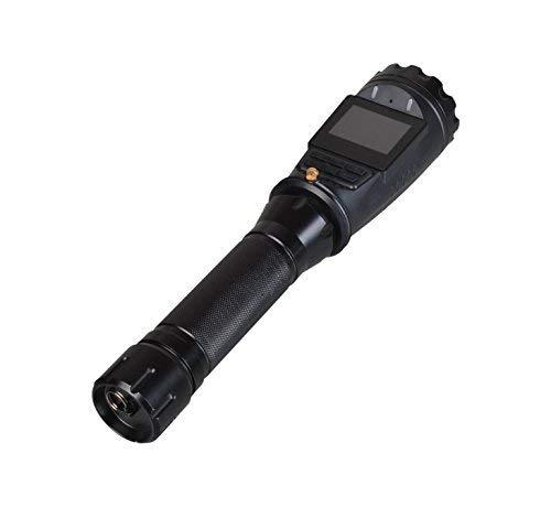 ONETHINGCAM® 4G / WIFI LED Taschenlampe taktische Hand ultra helle Taschenlampe 18650 Batterie für Sicherheitspolizei Kamera HD 1080p 30fps mit Android 5.1 System haben 125 Grad-Objektiv mit GPS, CE Certification Passed