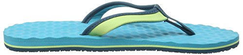 The North Face Base Camp Mini, Sandales Plateforme Femme Multicolore (Budding Green/Bluebird _ Gbq)