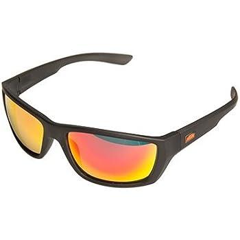 BISOMO® KTM Set: Sonnenbrille - Bikebrille - Rahmen Weiß - Glas Dunkel Getönt (5-XXX) gTpFTV2