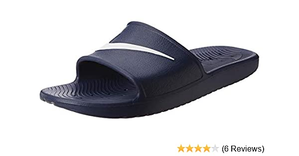 4042500dc89f NIKE Men s Kawa Shower Slide Beach   Pool Shoes  Amazon.co.uk  Shoes ...