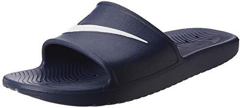 Nike kawa shower, ciabatte unisex adulto, blu (bleu nuit marine/blanc), 41 eu