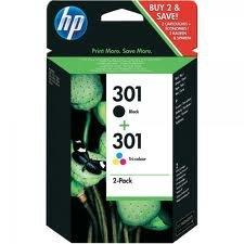HP Tintenpatrone CH561EE # 301, schwarz