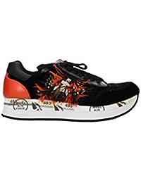 F5288 sneaker bimba girl PREMIATA SKY scarpe velvet//leather black shoe