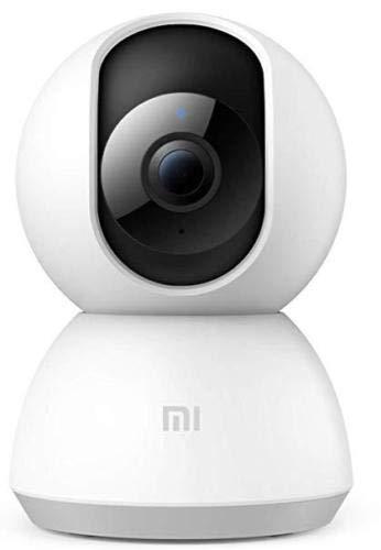 Xiaomi Original Security Cam 360° 1080P Color White IP-Kamera-System für die Überwachung - kabellos mit Selbst-Cruise, Motion Tracker, Activity Alert, Nachtsicht, Android iOS