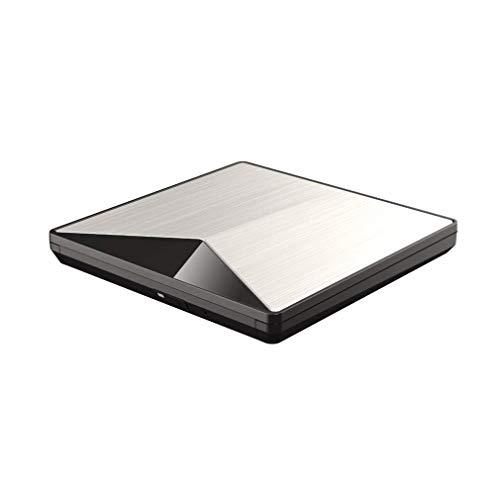 Externes ultraflaches DVD-Laufwerk Neueste USB3.0-Technologie, Plug & Play, kein Laufwerk erforderlich. für Mac DVD + Rewritable