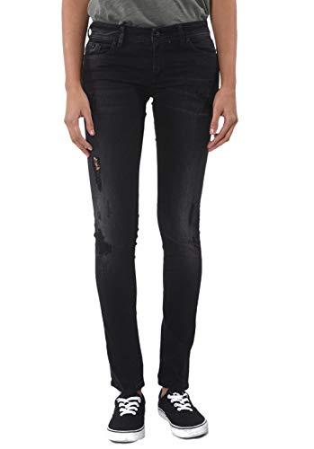 Kaporal Jeans Slim Femme Loka Noir Destroy