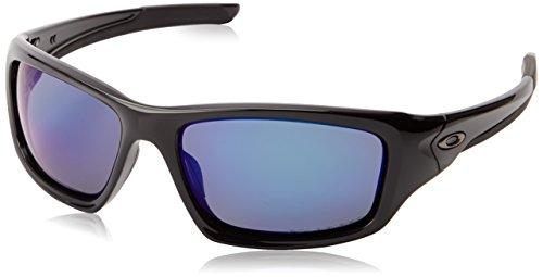 Oakley Sonnenbrille Valve, Pol Black W/Deep Blue Polar, One size, OO9236-12