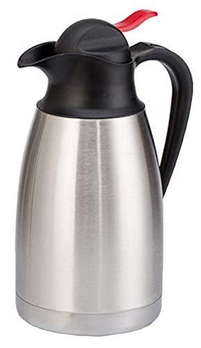 Isolierkanne 304 Edelstahl Thermoskannen 1,2/1,5L/2L Isolierte Kaffee Topf Kaffee Thermos Haushalt thermosflasche HEI und kalt dual Gebrauch Isolierung Topf für Saft Milch Tee Silber