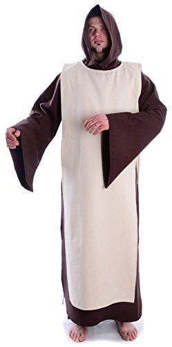 HEMAD Mittelalter Überwurf naturbeige Skapulier Mittelalterliche Kleidung