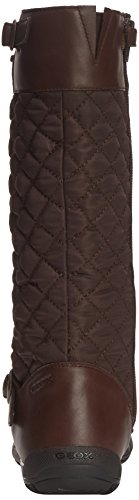 Geox Crissy Amphibiox, Bottes fille Marron (Coffee)