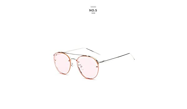 d436b0a00b Shopystore Pink  Badtemper Brand New Women Oval Sunglasses Clear Lens Female  Fashion Aviator Oval S  Amazon.in  Clothing   Accessories