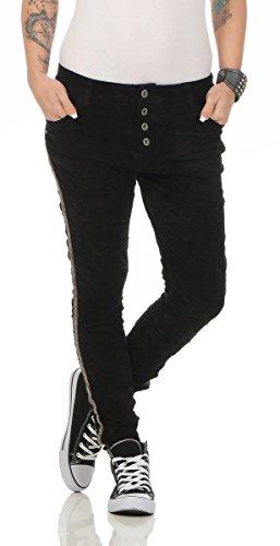 Lexxury - Jeans - Femme Bleu noir 36 Noir