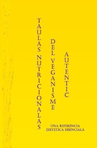 Price comparison product image Taulas Nutritionalas del Véganisme Autentic