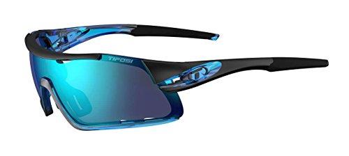 Tifosi Davos Interchangeable Clarion Blue Lens Sonnenbrille, Crystal, Einheitsgröße