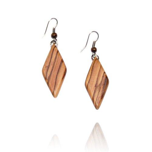 from-the-earth-handmade-olive-wood-diamond-earrings-fair-trade