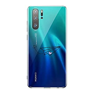 Oihxse Transparente Silicona Case Compatible con Huawei Honor 20 Pro Funda Suave TPU Protección Carcasa Moda Dibujos… 3
