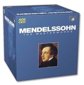 Les chef d'oeuvres de Mendelssohn en 40 CD [Import anglais]