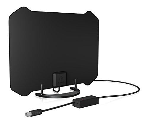 ICY BOX IB-AT1006 DVB-T2 HD Antenne Innenbereich, TV/Radio