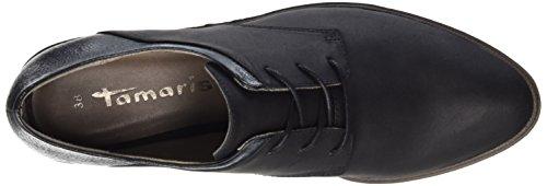 Tamaris 23301, Oxfords Femme Noir (Black Comb 098)